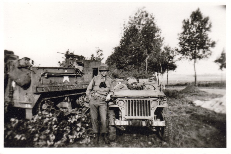 John Cornell, outside Chartres, Aug 1944