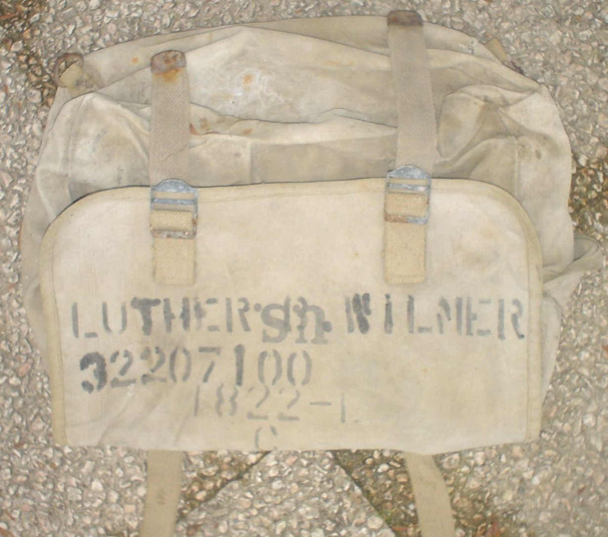 C/23 Luther B. Wilmer's bar, found at Chateua-Gontier, France