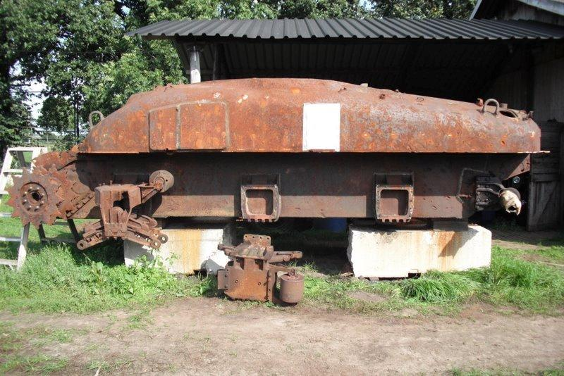 Overloon Tank-Before Restoration
