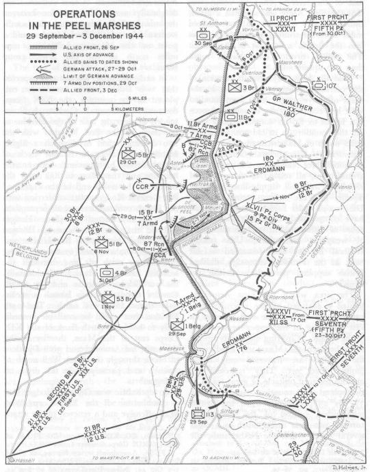 "MacDonald ""Siegrfried Line"" Map"
